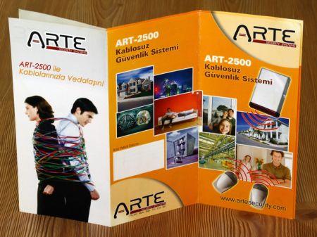 Arte Güvenlik Sistemleri - Broşür