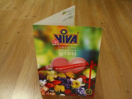 Viva Çiçek - Kurumsal Kimlik Dosyası