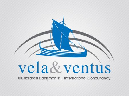 Vela & Ventus Uluslararası Danışmanlık Logo ve Kurumsal Kimlik Tasarımı